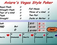 Aviares Vegas Video Poker online